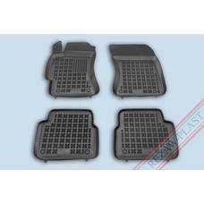 Rezaw Plast Gummi Fußmatten für Subaru Forester III