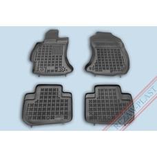 Rezaw Plast Gummi Fußmatten für Subaru Forester IV