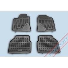 Rezaw Plast Gummi Fußmatten für Toyota Avensis II