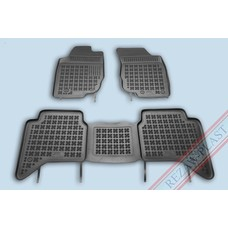Rezaw Plast Gummi Fußmatten für Toyota Hilux