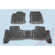 Rezaw Plast Gummi Fußmatten für Toyota Land Cruiser J12