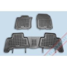 Rezaw Plast Gummi Fußmatten für Toyota Land Cruiser J15