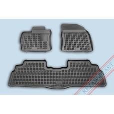 Rezaw Plast Gummi Fußmatten für Toyota Verso