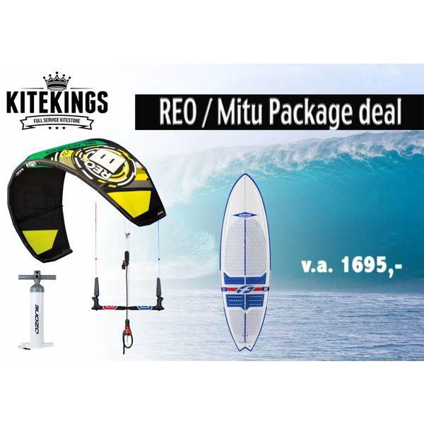 Ozone Reo package deal inclusief Mitu board