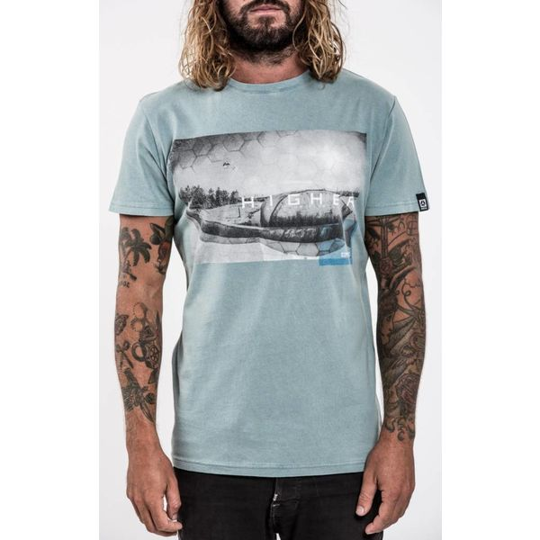 Mystic Mystic Higher Tee Winter Blue