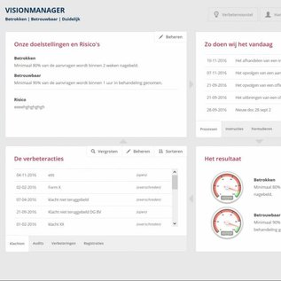 ISO 9001 update 2015 inclusief software 11-25 gebruikers