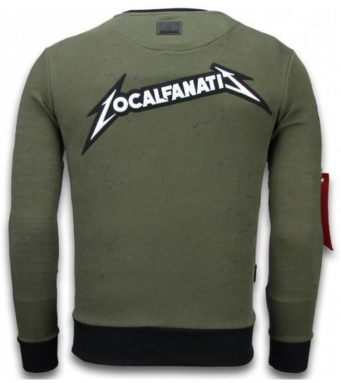 Local Fanatic Exclusief Basic Embroidery - Sweater Patches - Groen