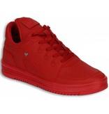 Cash Money Heren Schoenen - Heren Sneaker Low - States Full Red - Rood