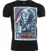Local Fanatic T-shirt - Chucky Poster Print - Zwart