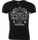 Local Fanatic T-shirt - Black Edition Print - Zwart