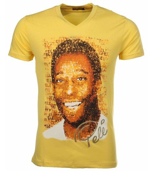 Local Fanatic T-shirt Pele - Geel