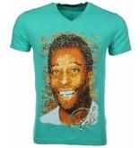 Local Fanatic T-shirt Pele - Groen