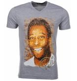 Local Fanatic T-shirt Pele - Grijs
