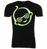 Local Fanatic T-shirt Zwitsal - Zwart