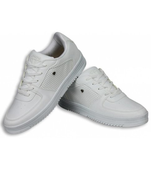 Cash Money Heren Schoenen - Heren Sneaker Low - States Full White
