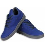 Cash Money Heren Schoenen - Heren Sneaker Low - Blauw