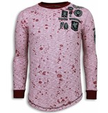 Local Fanatic Longfit Embroidery - Sweater Patches - Guerrilla - Rood
