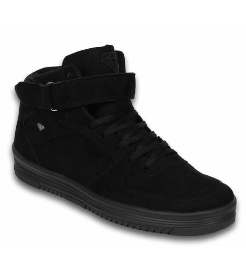 Cash Money Heren Schoenen - Heren Sneaker High - Dolce Black