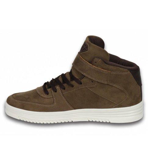 Cash Money Heren Schoenen - Heren Sneaker High - Dolce Taupe