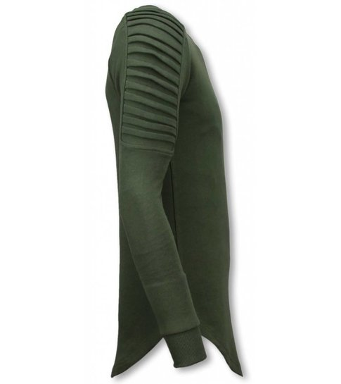 Uniplay Longfit Sweater - Biker Shoulder - Groen