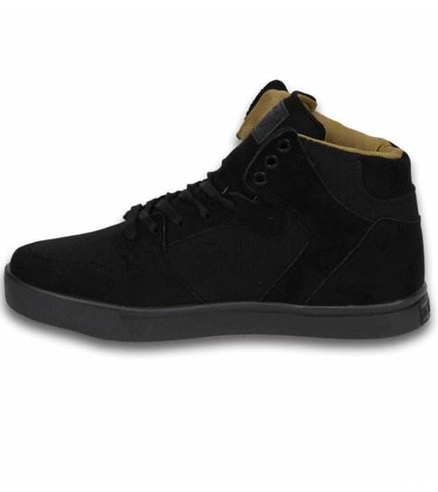 Cash Money Heren Schoenen - Heren Sneaker High - Riff Black