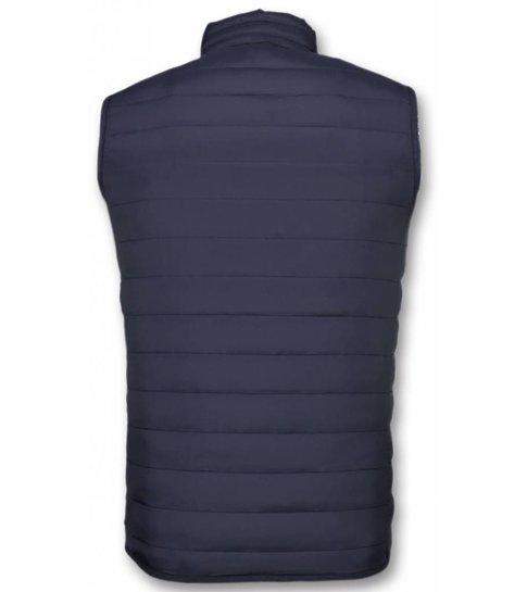 Y chrom Bodywarmer Heren - Casual Bodywarmer - Blauw