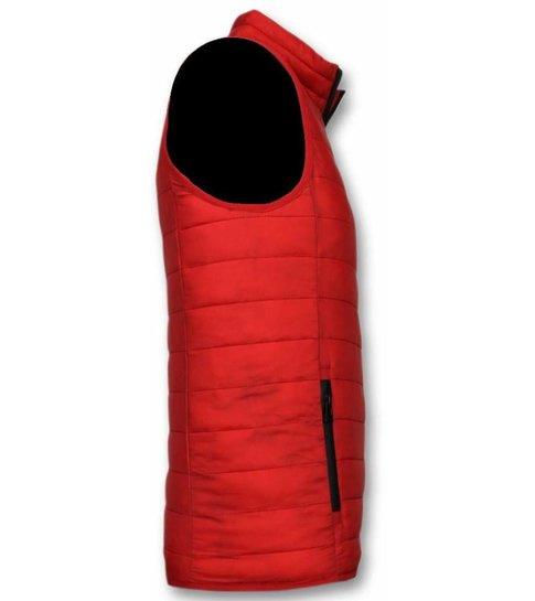 Y chrom Bodywarmer Heren - Casual Bodywarmer - Rood