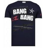 Local Fanatic Loyalty Marilyn - Rhinestone T-shirt - Navy