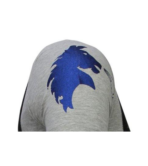 Local Fanatic Balboa - Rhinestone T-shirt - Grijs