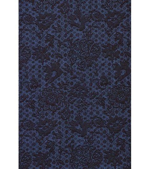 TONY BACKER Italiaanse Overhemden - Slim Fit Overhemd - Blouse Paisley Pattern - Blauw