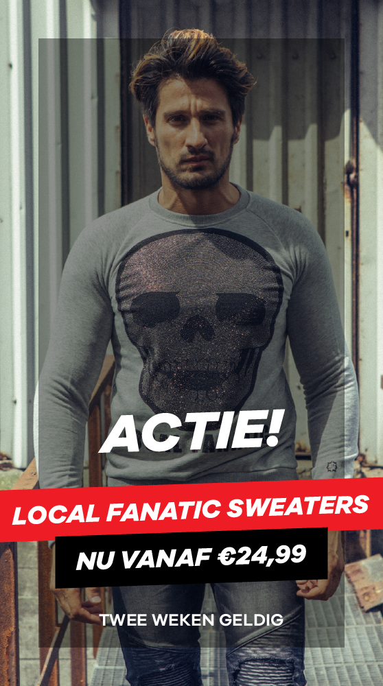 Actie 9: Local fanatic Sweater