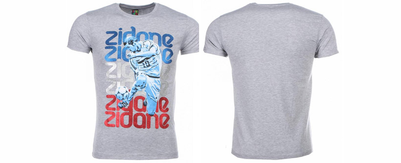 T-shirts Zinedine Zidane