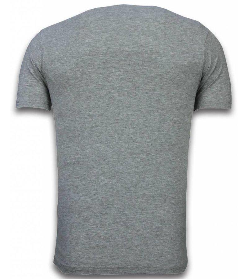 Mascherano Major Star - T-shirt - Grijs