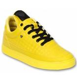 Cash Money Heren Schoenen - Heren Sneaker Low Beehive  Yellow - Geel