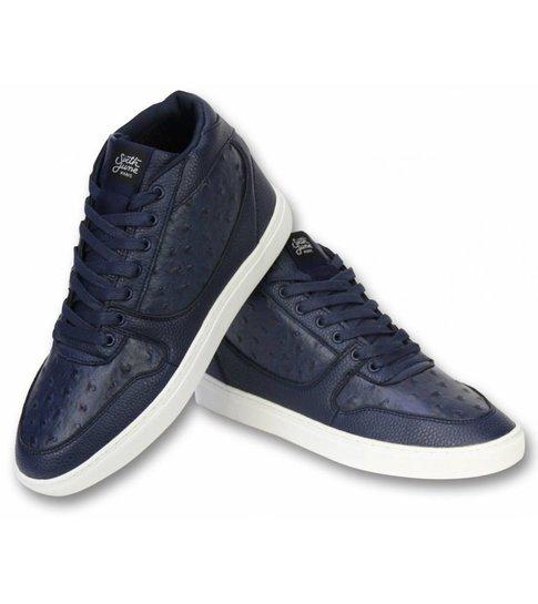 Sixth June Heren Schoenen - Heren Sneaker Nation Peak - Navy