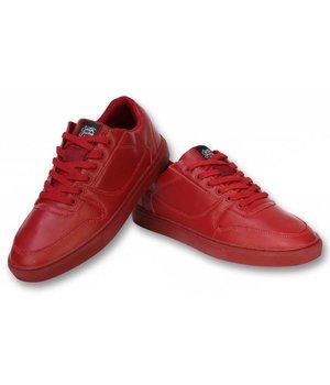 Sixth June Heren Schoenen - Heren Sneaker Seed Essential - Rood