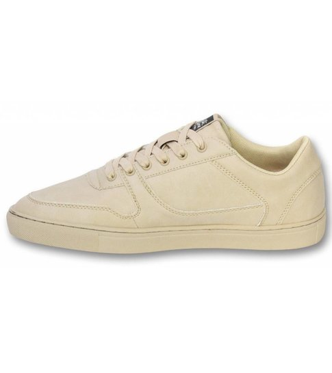 Sixth June Heren Schoenen - Heren Sneaker Seed Essential - Beige