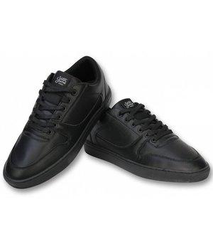 Sixth June Heren Schoenen - Heren Sneaker Seed Essential - Zwart