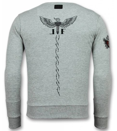 Local Fanatic Mcgregor Tattoo Trui - Notorious Heren Sweater - Grijs
