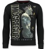 Local Fanatic Notorious Trui - King Mcgregor  Sweater Heren - Zwart
