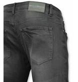 New Stone Heren Jeans Slim Fit - Stretch Jeans Heren - Broek Kopen - Zwart