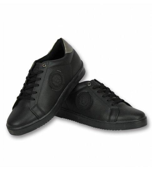Cash Money Heren Schoenen - Heren Sneaker Tiger Black - CMS16 - Zwart