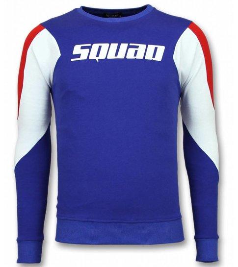 UNIMAN Three Color Trui - Squad Sweater Heren - Blauw