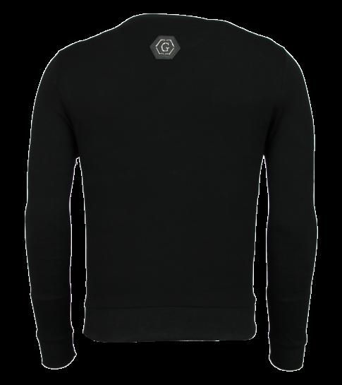 Trui Met Sterren.Rhinestone Mannen Trui Doodskop Sweater Sale Styleitaly Nl
