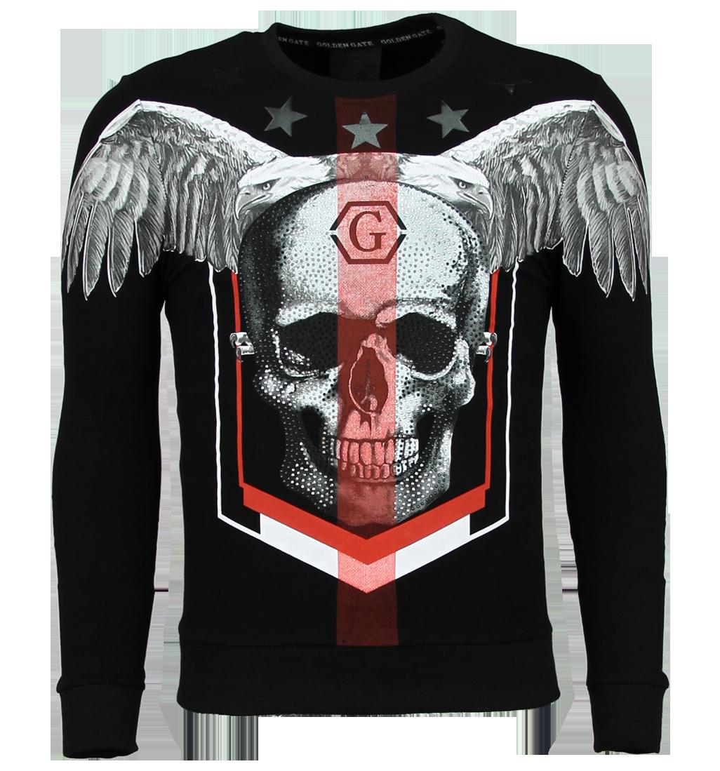 Doodskop Trui | Skull Truien Heren | Sweaters Mannen |