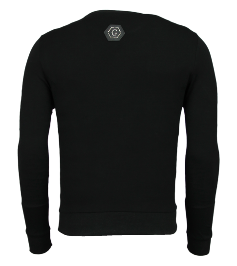 Golden Gate Heren Trainingspakken - Slim fit Joggingpak Mannen- Color Skull - Zwart