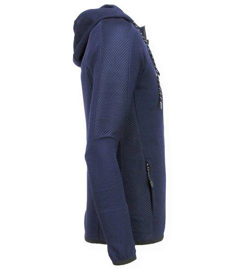 Enos Slim Fit Joggingpak Mannen - Trainingspakken Heren Basic- F552 - Navy