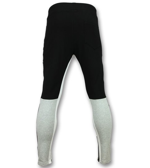 Enos Sweatpants Heren - Trainingsbroek Mannen - F7663 - Zwart