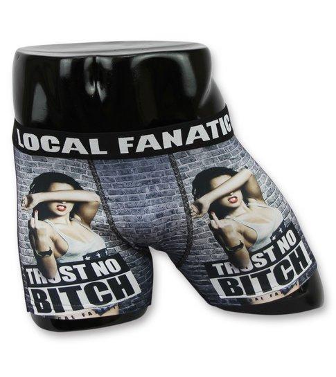 Local Fanatic Mannen Underwear Kopen - Boxershort Heren Bitch