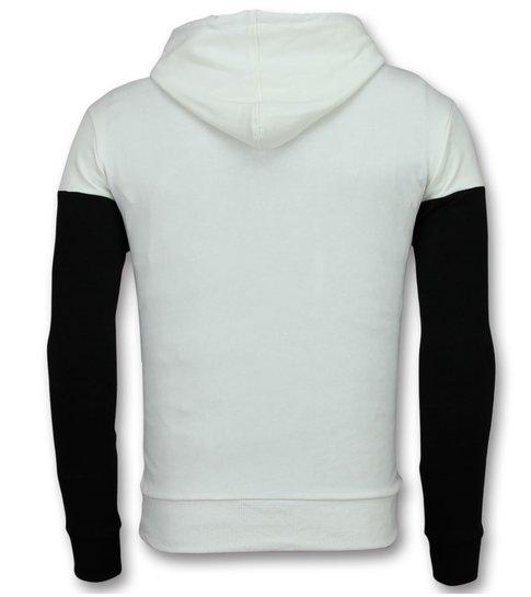 Heren Hoodie | Witte Hoodie | Gratis Versturen | Style Italy